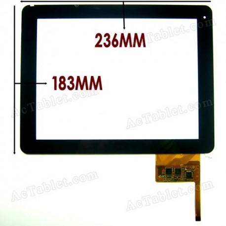 "Pantalla tactil para tablet Omega Tablet 9,7"" IPS DIGITALIZADOR"