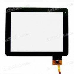 "Pantalla tactil para tablet ANSONIC 8"" DC8 digitalizador"