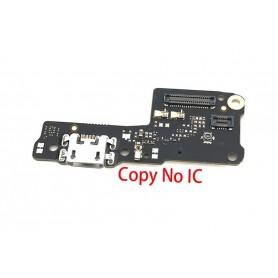 Flex Conector Carga Xiaomi Redmi 7A placa