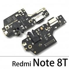 Conector Carga Xiaomi Redmi Note 8T cable flex placa USB