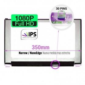 Pantalla LCD 15,6 pulgadas 30 pins 1920x1080 350mm