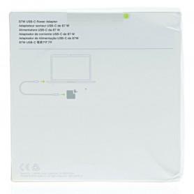 MNF82Z/A Apple Adaptador corriente USB-C 87W MacBook Pro