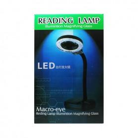 Lampara LED lupa para reparar moviles