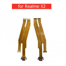 Conector Carga realme X2 placa USB flex