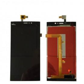 Pantalla tactil y LCD Wiko Ridge Fab 4G negro