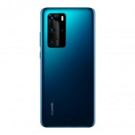 Tapa trasera azul Huawei P40 Pro ELS-NX9 ELS-N04 carcasa