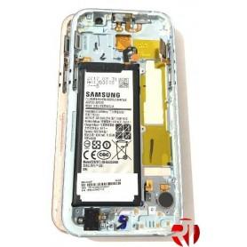 Marco frontal Samsung Note 4 N910 N910A N910F N910H Original