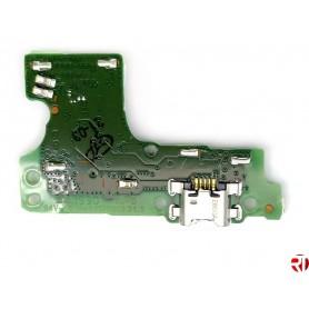 Conector Carga Huawei Y6s JAT-LX3 placa USB flex