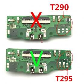 Conector Carga Samsung Tab A 8 T295 4G placa USB