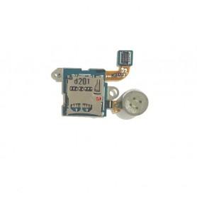 Flex lector de tarjeta MicroSD y vibrador Samsung Galaxy Note 10.1 GT-N8000 Original