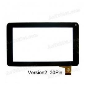 Pantalla tactil para tablet Momo 9 conector 30 pins pb70a8508