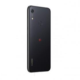 Tapa trasera negra Huawei Y6s JAT-LX3 carcasa repuesto
