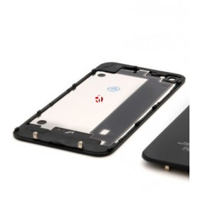 Tapa trasera iPhone 4S A1431 A1387 A1387 negra