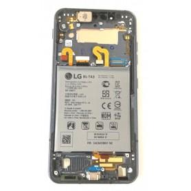 Marco frontal LG G8S ThinQ desmontaje