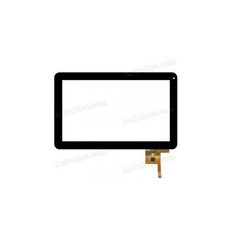 WJ-DR10011 V2 Pantalla tactil MF-187-101F-7 cristal digitalizador