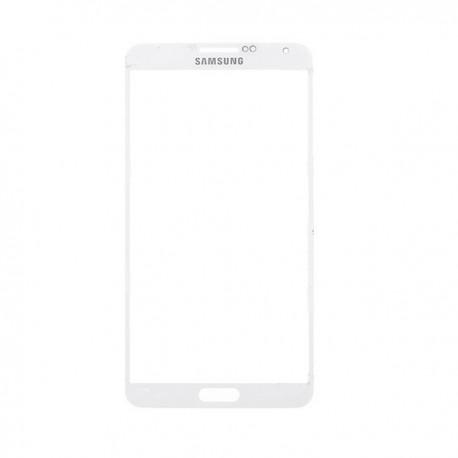 Pantalla cristal Samsung Galaxy Note 3 N9000 N9005 blanca lente