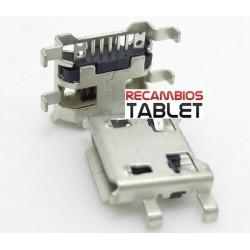 Conector DC jack micro usb U-022 conector de carga