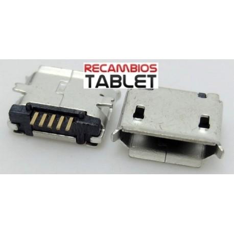 Conector jack micro usb U-033 para tablet o smartphone