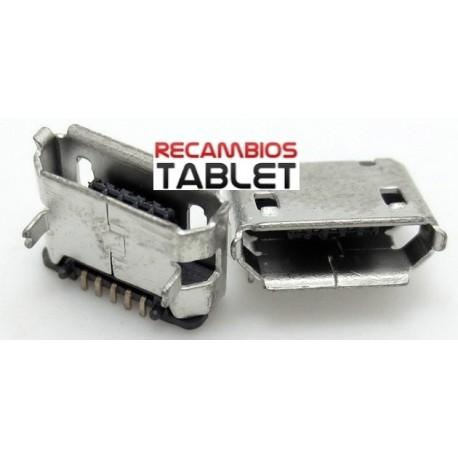Conector jack microusb U-009 smartphone o tablet