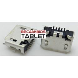 Conector jack micro usb U-092 conector de carga