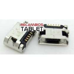 Jack micro usb U-096 conector de corriente para tablet, movil, mp4, disco extraible