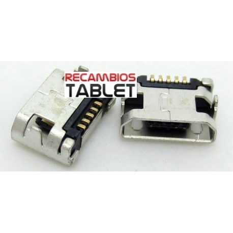 Jack micro usb U-096 conector de corriente para tablet, movil, mp4, disco extraible