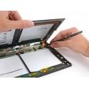 Cambiar/reparar conector corriente DC JACK de tablet