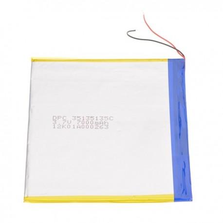 Bateria para tablet china 7000mAh 3.7V 135 x 130 x 3mm