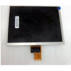 Pantalla LCD HJ080IA-01E M1-A1 32001395-00 display