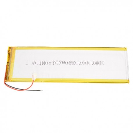 Bateria tablet 3600mAh 3.7V 160 x 50 x 4mm