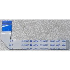 Cable AWM E118077 2896 80C VW-1 ancho 1cm