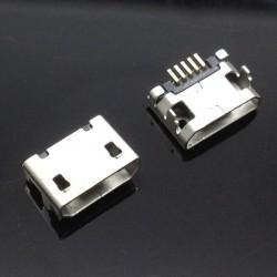 Conector de carga microUSB smartphone o tableta