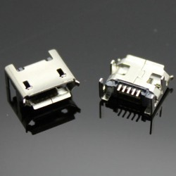 Conector jack microUSB universal
