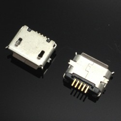Conector jack microUSB