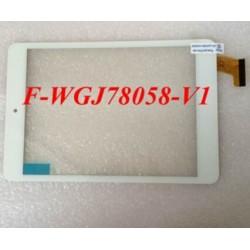 Pantalla tactil F-WGJ78058-V1 / WGJ78058A JRH