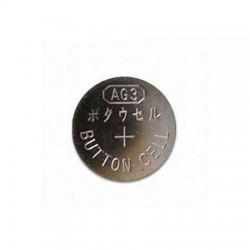 Pila boton AG3 V3GA, 192, LR41, 392A, G3, GP92A, SR41W Alcalina 1.55V
