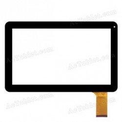 Pantalla tactil WJ-DR10028-FPC V2.0 cristal touch