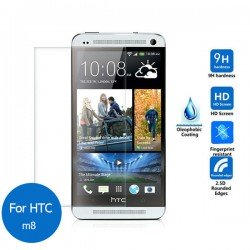 Protector cristal templado HTC One M8 Dual QL