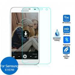 Protector Samsung GALAXY E7 Duos E700 cristal templado