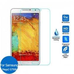 Protector cristal templado Samsung GALAXY Mega 2 Duos G750 G7508 G7509