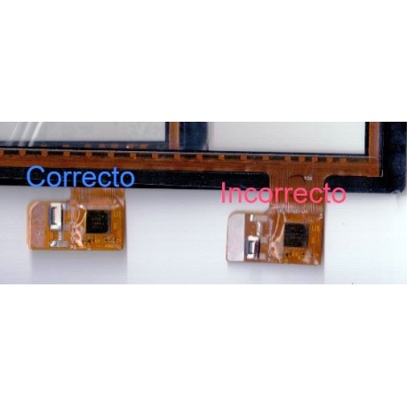 Pantalla tactil Gemini DevicesGEM10313BK cristal digitalizador