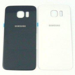 Tapa trasera Samsung Galaxy S6 Edge G920 G9200 G925 G9250 oro o negra