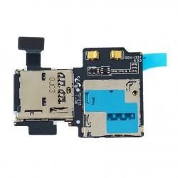 Lector de tarjeta SIM y microSD flex Samsung S4 i9500 i9505