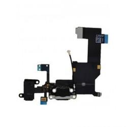 Cable flex conector de carga IPHONE 5 negro 821-1417-A