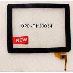 Pantalla táctil OPD TPC0034 touch digitalizador