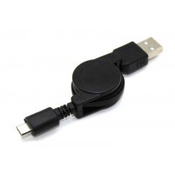 Cable de datos MICRO USB retractil