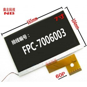 Pantalla LCD DISPLAY FPC7006003