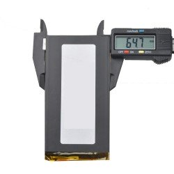 Batería 4000mAh 3.7V 125 x 65 x 3,7mm