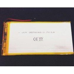 Batería para tablets 3,7v 7000mAh 140x70x3.5mm