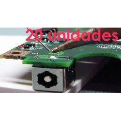 20 conectores de carga para portátil